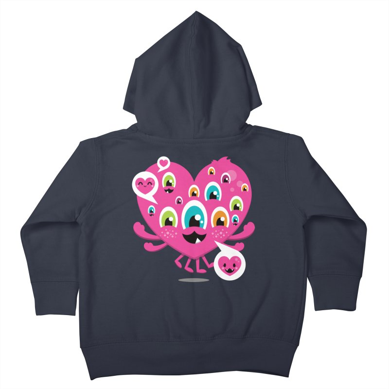SEE AND SAY Kids Toddler Zip-Up Hoody by theGHOSTHEART's artist shop