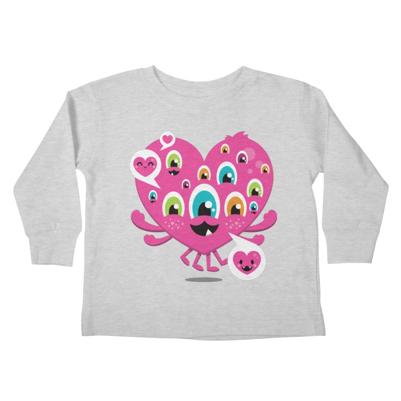SEE AND SAY Kids Toddler Longsleeve T-Shirt by theGHOSTHEART's artist shop