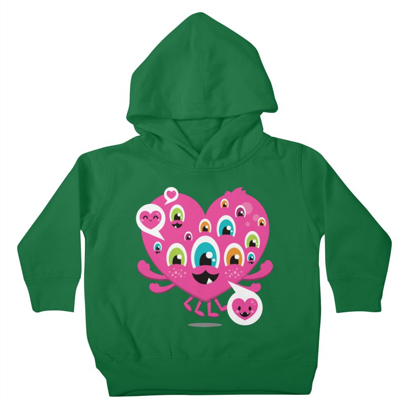 SEE AND SAY Kids Toddler Pullover Hoody by theGHOSTHEART's artist shop