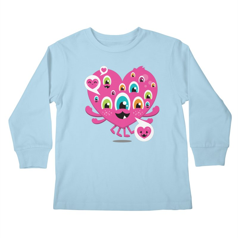 SEE AND SAY Kids Longsleeve T-Shirt by theGHOSTHEART's artist shop