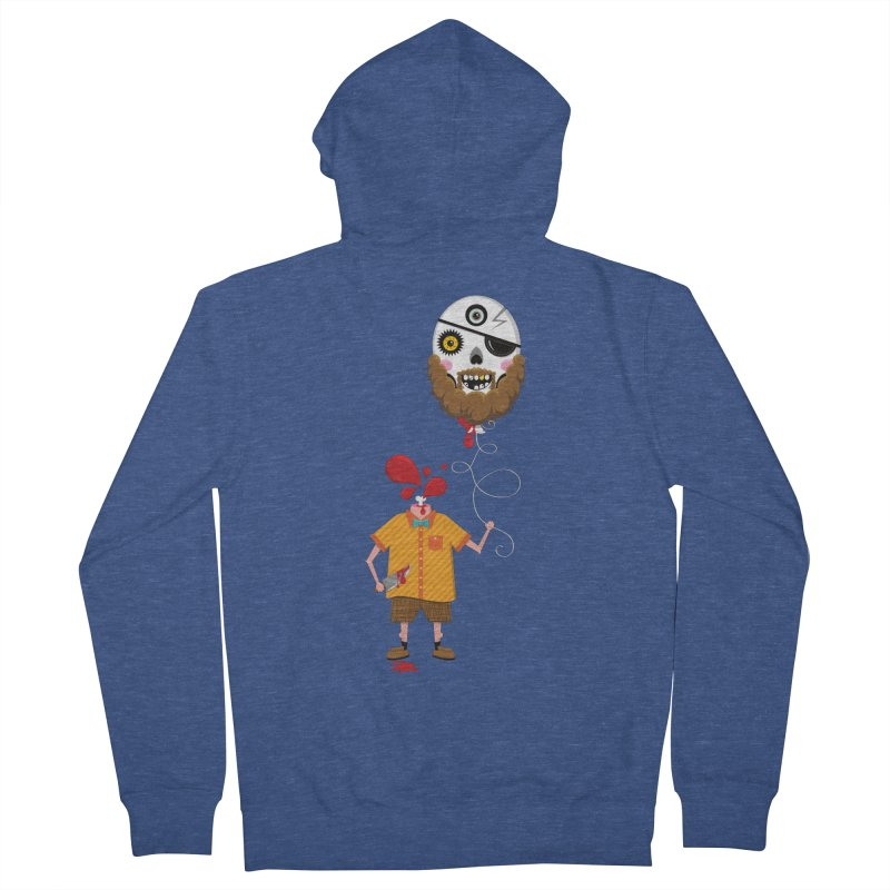 SACRIFICE Men's French Terry Zip-Up Hoody by theGHOSTHEART's artist shop
