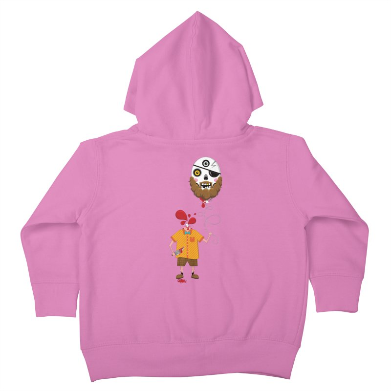 SACRIFICE Kids Toddler Zip-Up Hoody by theGHOSTHEART's artist shop