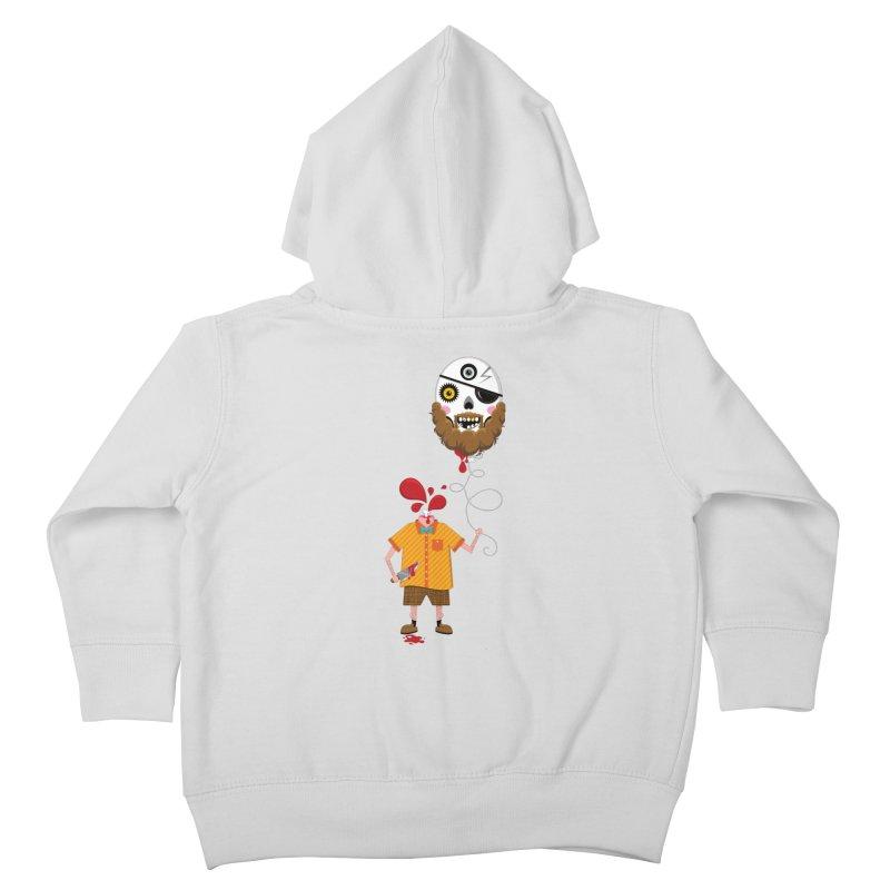 SACRIFICE Kids Toddler Zip-Up Hoody by theGHOSTHEART's artist shop