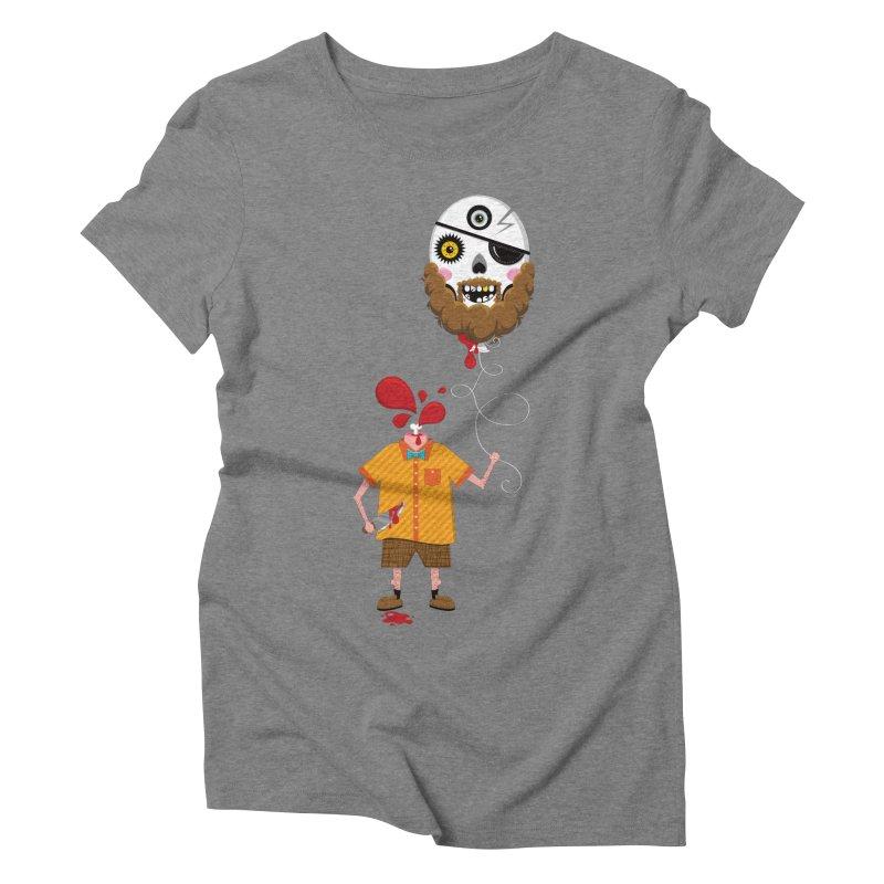SACRIFICE Women's Triblend T-Shirt by theGHOSTHEART's artist shop