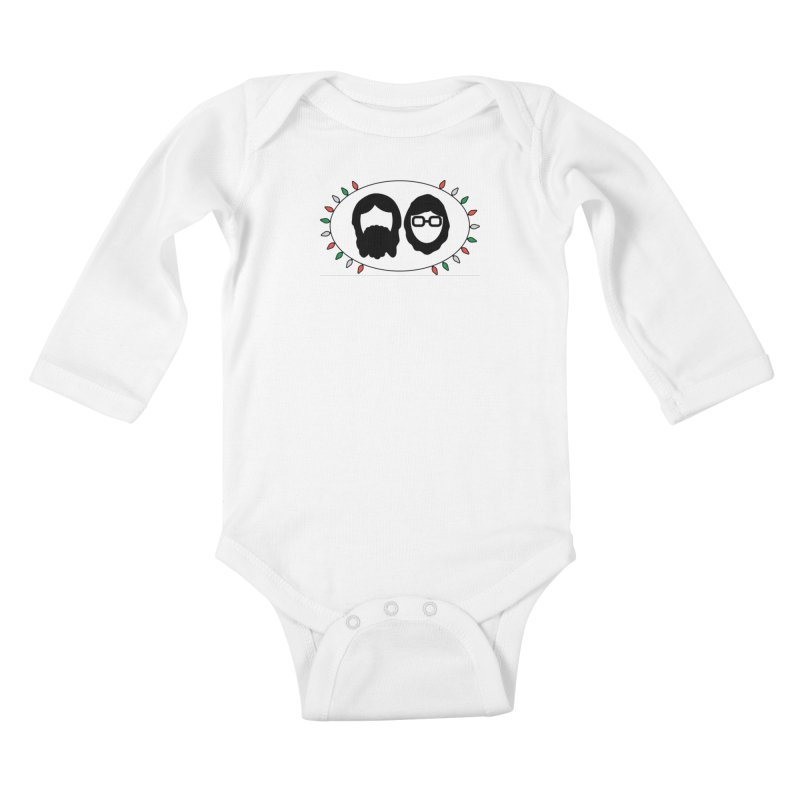 Winter Kids Baby Longsleeve Bodysuit by thegingercollect's Artist Shop