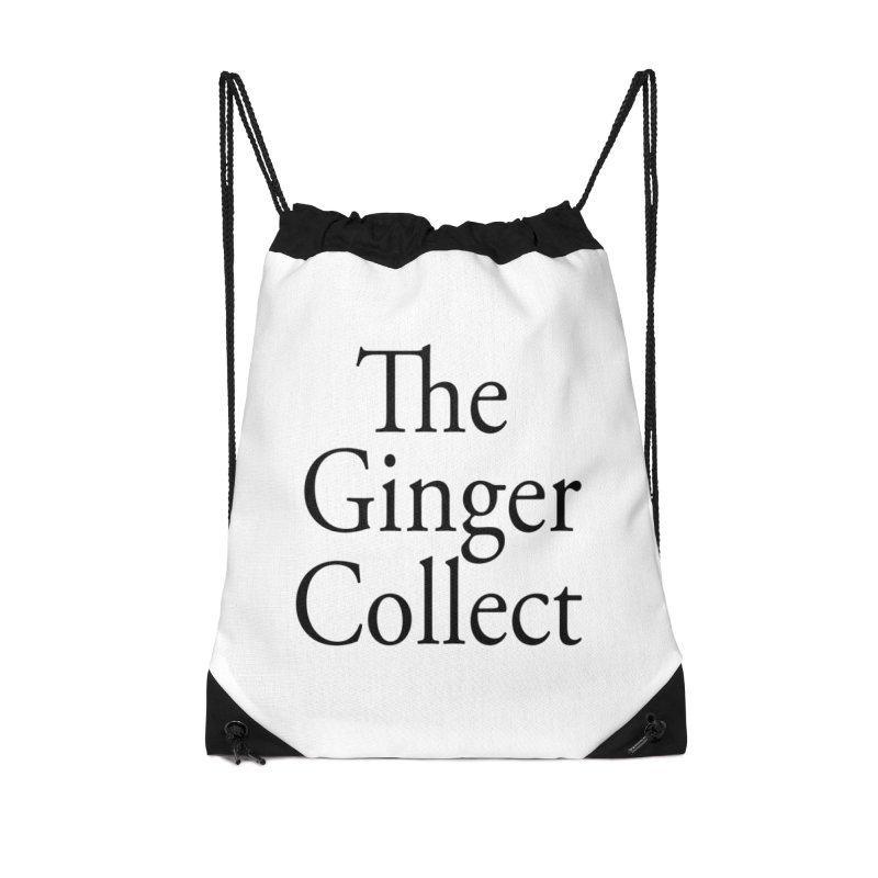 The Ginger Collect Accessories Drawstring Bag Bag by thegingercollect's Artist Shop