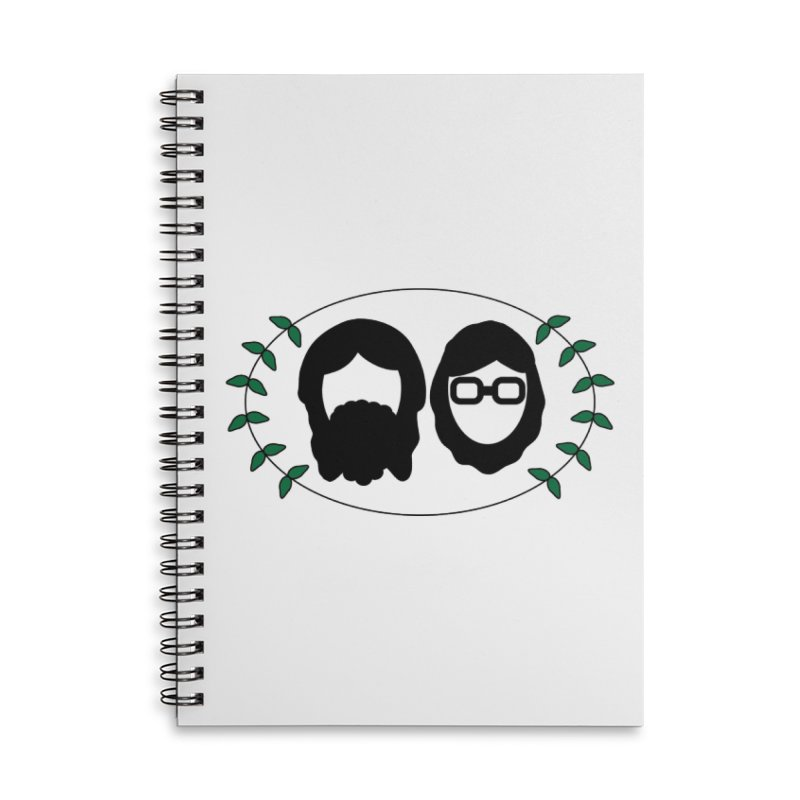Original 2017 Logo Accessories Lined Spiral Notebook by thegingercollect's Artist Shop