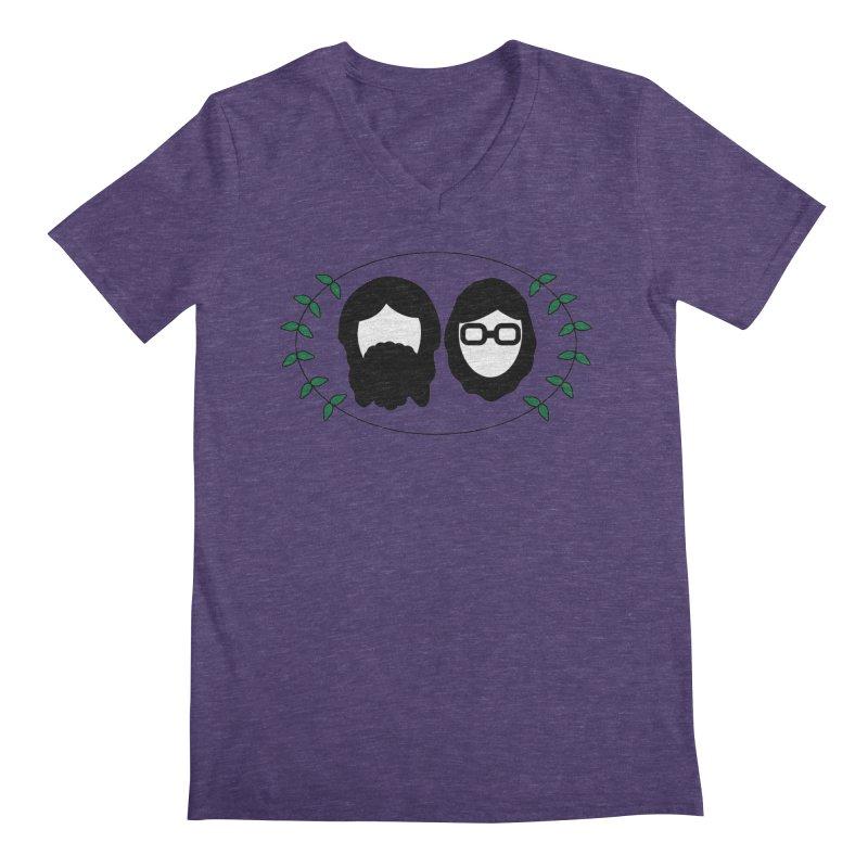 Original 2017 Logo Men's Regular V-Neck by thegingercollect's Artist Shop