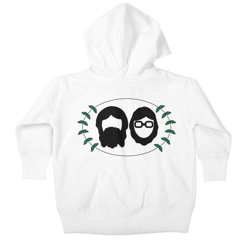 Original 2017 Logo Kids Baby Zip-Up Hoody by thegingercollect's Artist Shop