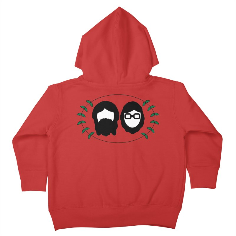 Original 2017 Logo Kids Toddler Zip-Up Hoody by thegingercollect's Artist Shop