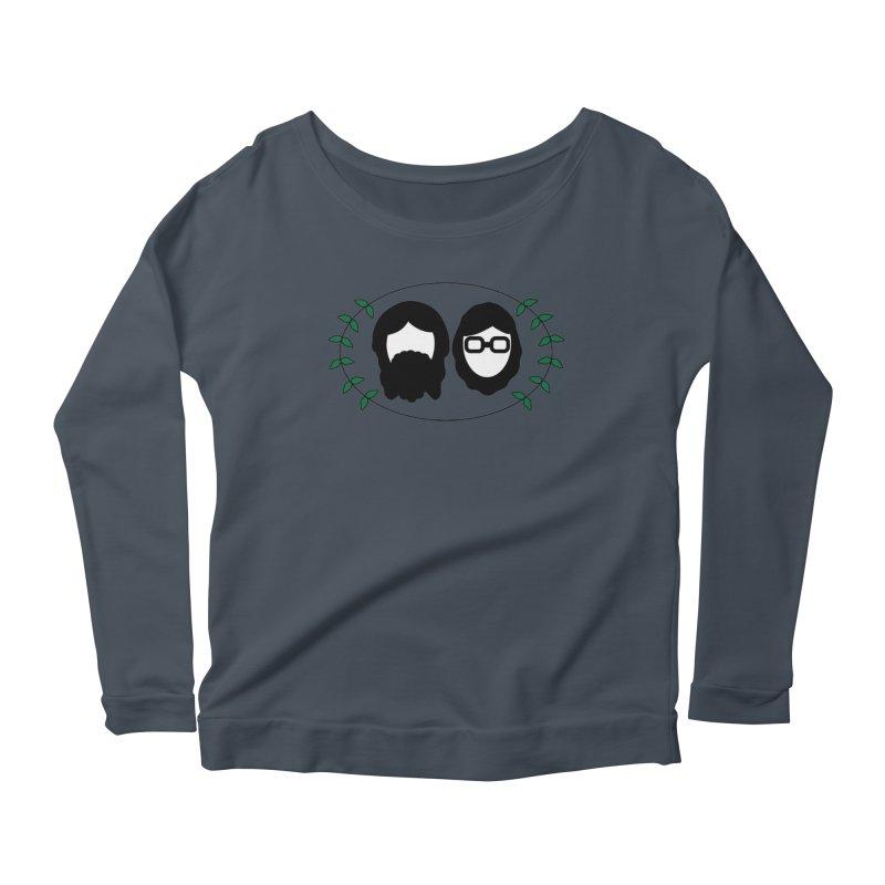 Original 2017 Logo Women's Scoop Neck Longsleeve T-Shirt by thegingercollect's Artist Shop