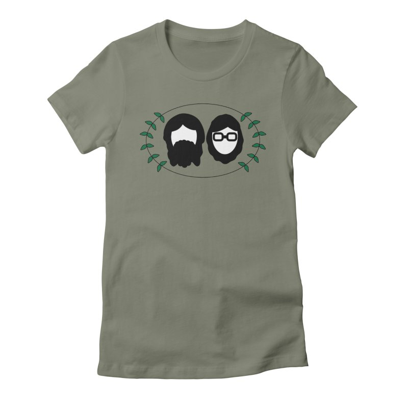 Original 2017 Logo Women's Fitted T-Shirt by thegingercollect's Artist Shop
