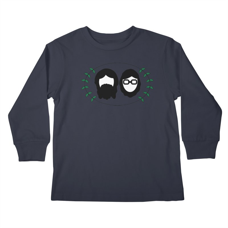 Original 2017 Logo Kids Longsleeve T-Shirt by thegingercollect's Artist Shop