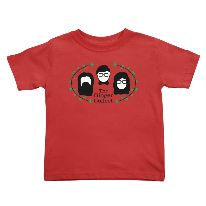 2018 Design Kids Toddler T-Shirt by thegingercollect's Artist Shop