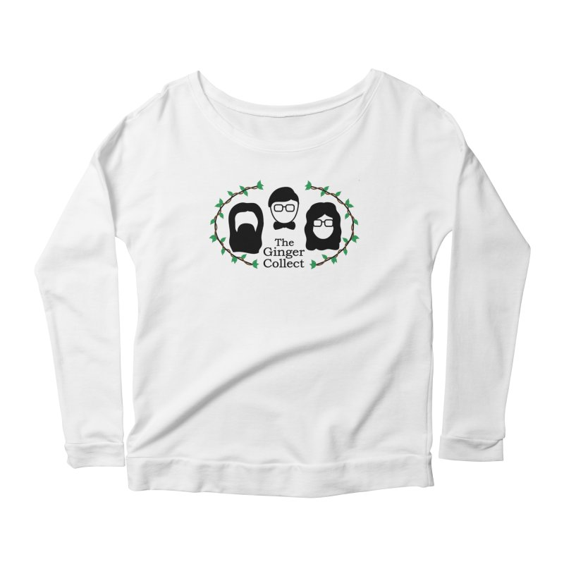 2018 Design Women's Scoop Neck Longsleeve T-Shirt by thegingercollect's Artist Shop