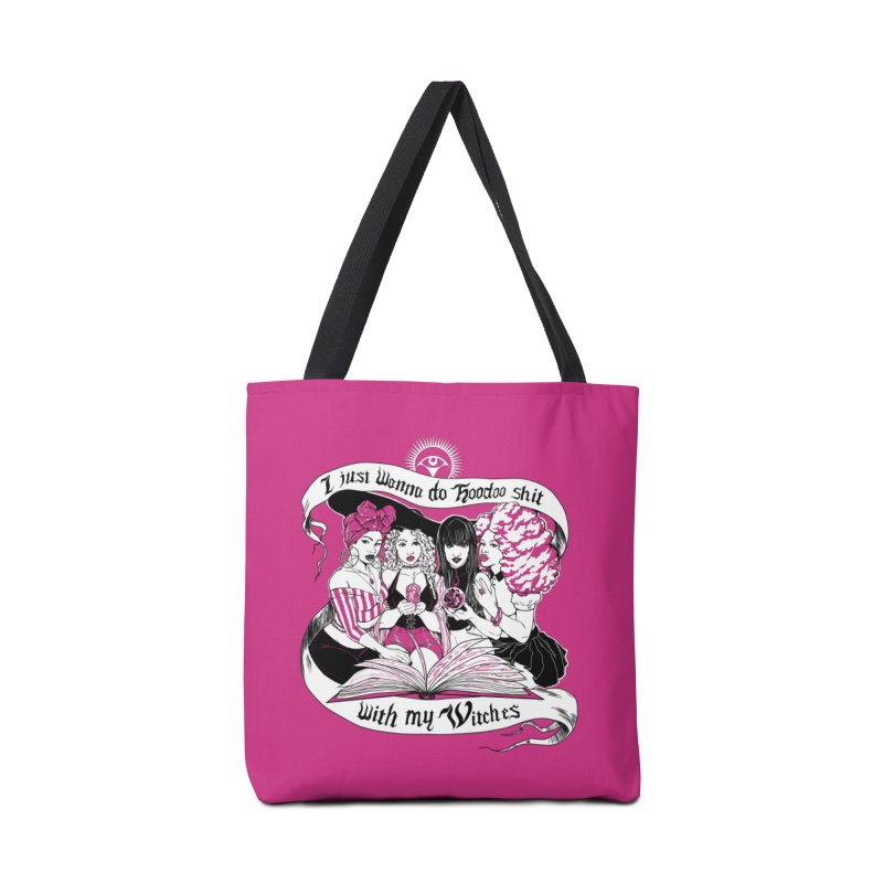 Hoodoo With My Witches Accessories Bag by TheGlamourWitch's Artist Shop