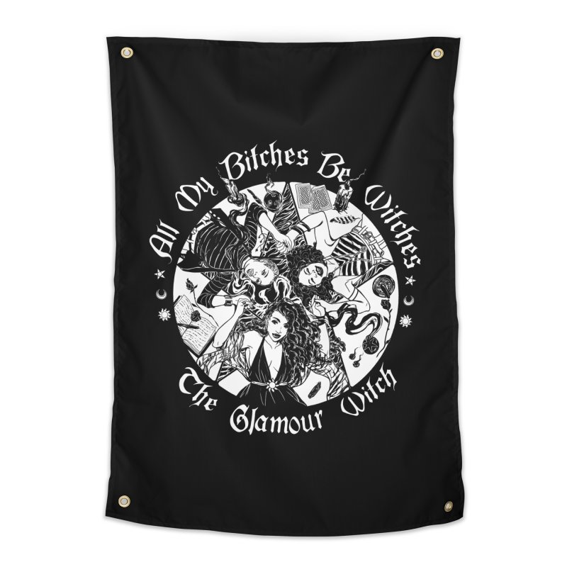 All My Witches Home Tapestry by TheGlamourWitch's Artist Shop