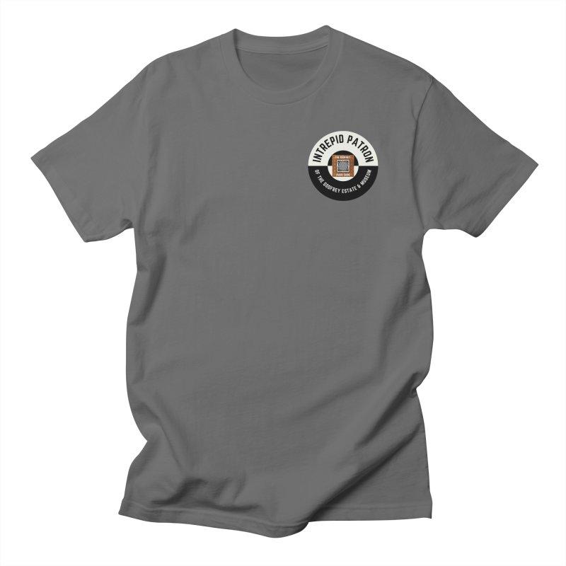 Intrepid Patron! (subtle) Men's T-Shirt by The Godfrey Estate & Museum Gift Shop