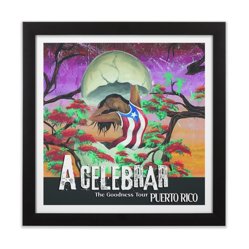 A Celebrar Art Prints Home Framed Fine Art Print by The Goodness Tour Artist Shop