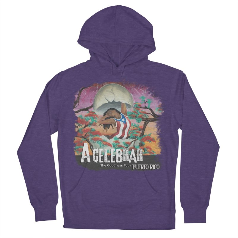 A Celebrar Apparel Women's French Terry Pullover Hoody by The Goodness Tour Artist Shop