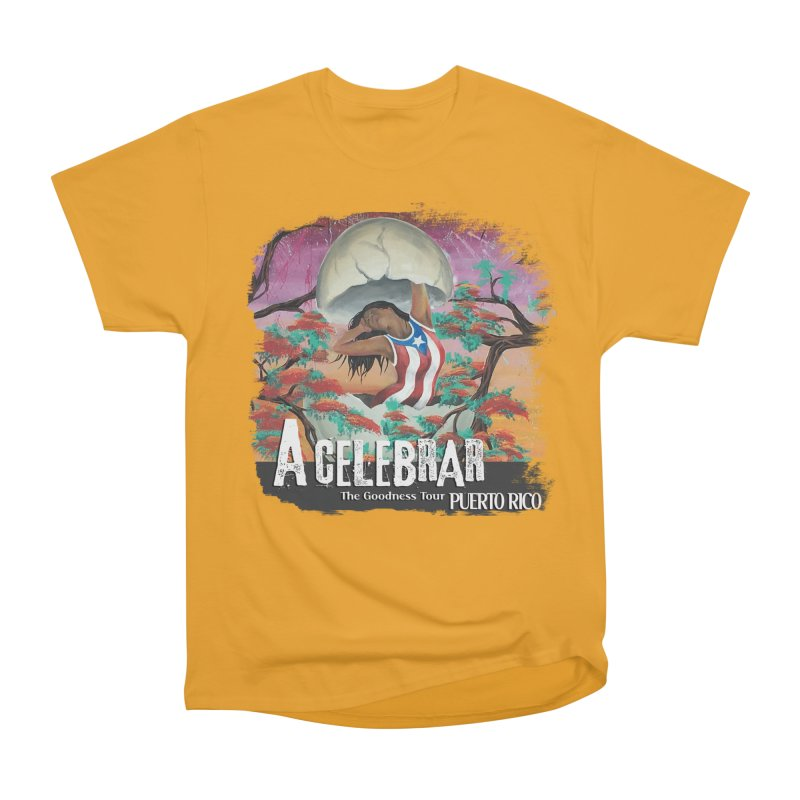 A Celebrar Apparel Men's Heavyweight T-Shirt by The Goodness Tour Artist Shop