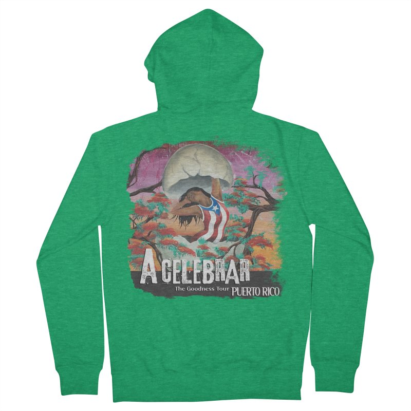 A Celebrar Apparel Women's Zip-Up Hoody by The Goodness Tour Artist Shop