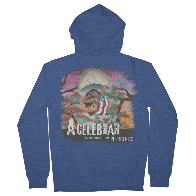 A Celebrar Apparel Women's French Terry Zip-Up Hoody by The Goodness Tour Artist Shop