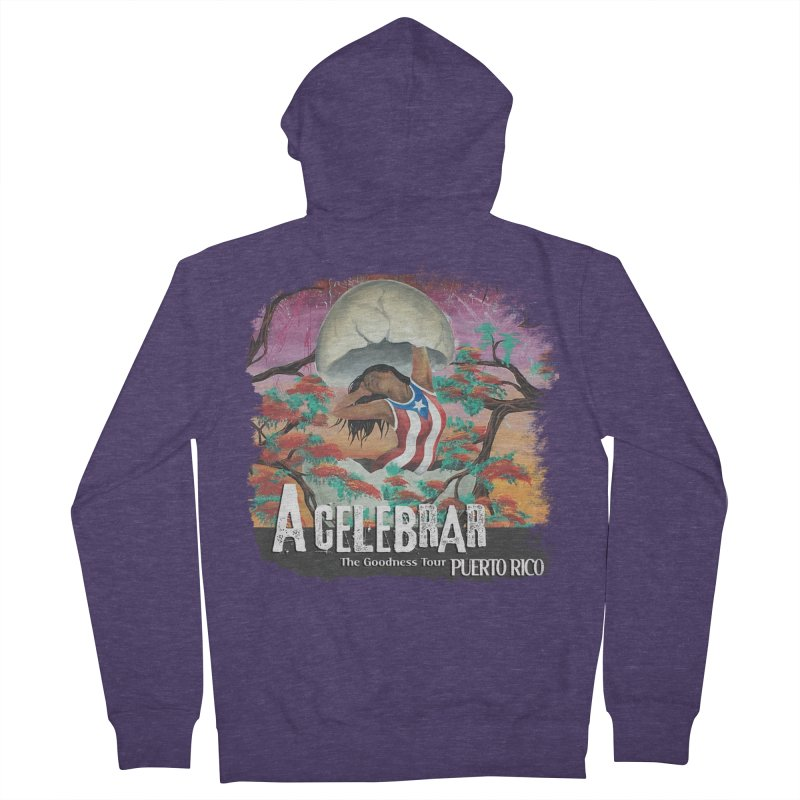 A Celebrar Apparel Men's French Terry Zip-Up Hoody by The Goodness Tour Artist Shop