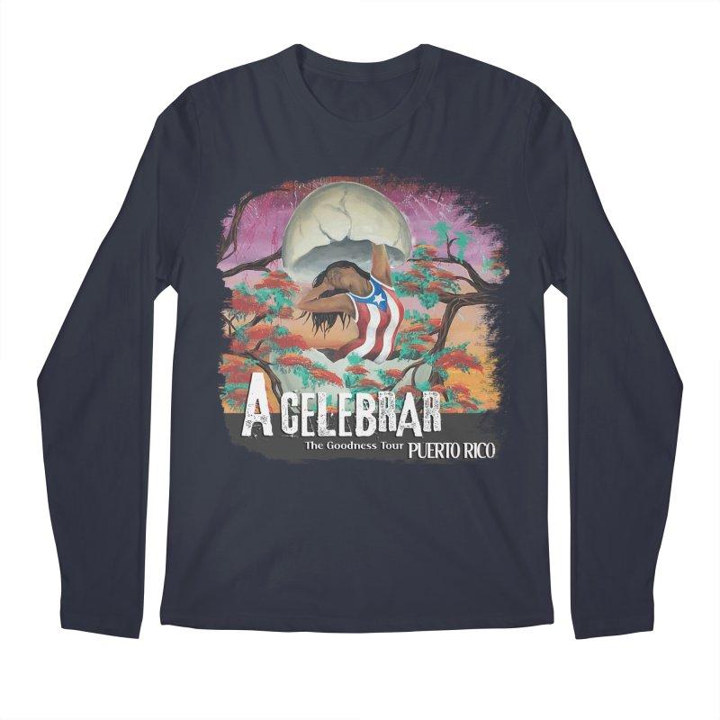 A Celebrar Apparel Men's Regular Longsleeve T-Shirt by The Goodness Tour Artist Shop