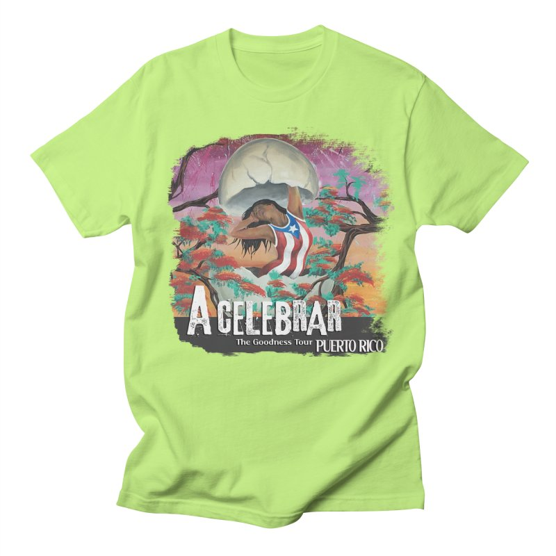 A Celebrar Apparel Men's Regular T-Shirt by The Goodness Tour Artist Shop