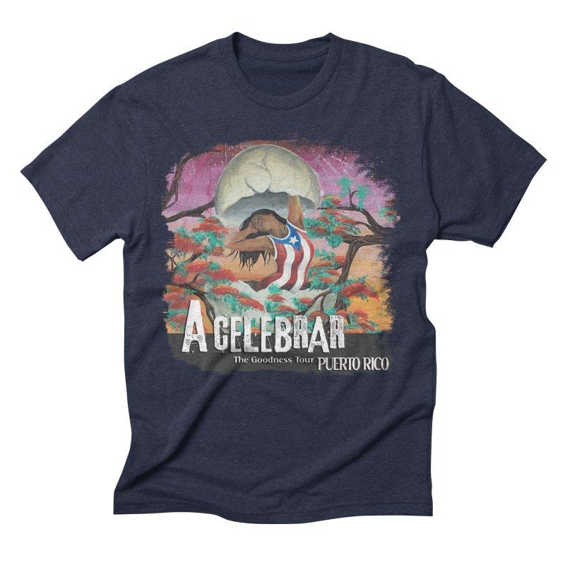 A Celebrar Apparel Men's Triblend T-Shirt by The Goodness Tour Artist Shop