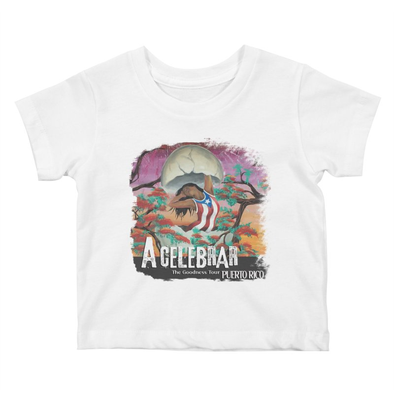 A Celebrar Apparel Kids Baby T-Shirt by The Goodness Tour Artist Shop