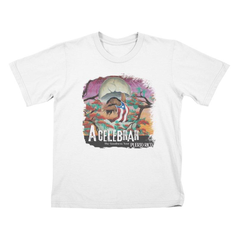 A Celebrar Apparel Kids T-Shirt by The Goodness Tour Artist Shop