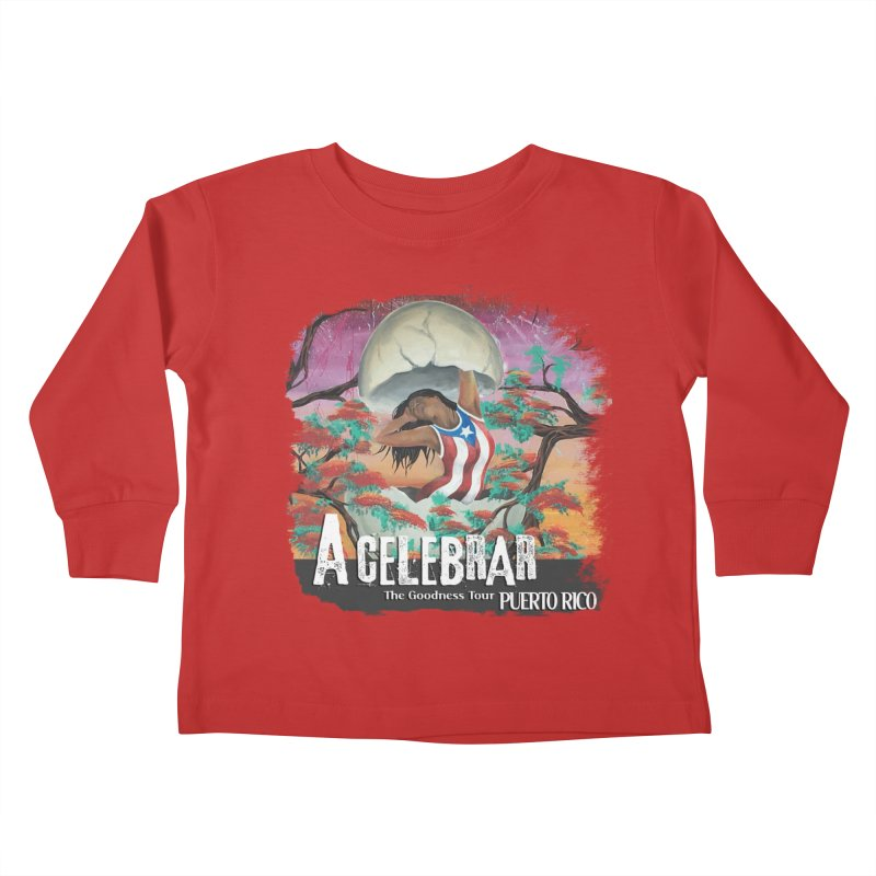 A Celebrar Apparel Kids Toddler Longsleeve T-Shirt by The Goodness Tour Artist Shop