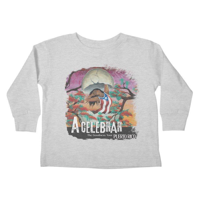 A Celebrar Apparel Kids Toddler Longsleeve T-Shirt by The Goodness Tour Artist Shop