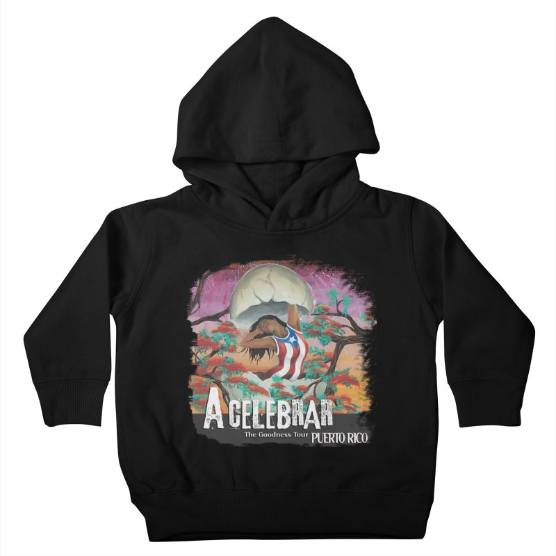 A Celebrar Apparel Kids Toddler Pullover Hoody by The Goodness Tour Artist Shop