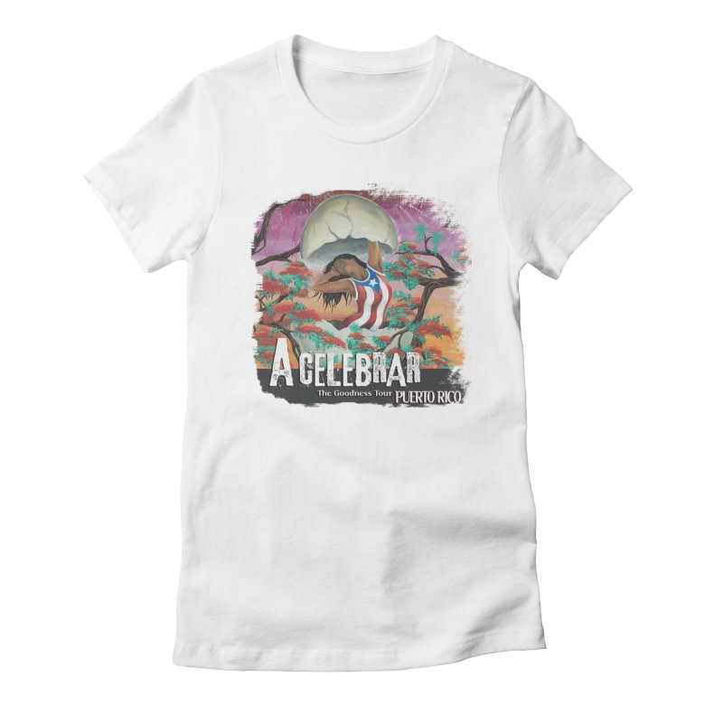 A Celebrar Apparel Women's T-Shirt by The Goodness Tour Artist Shop