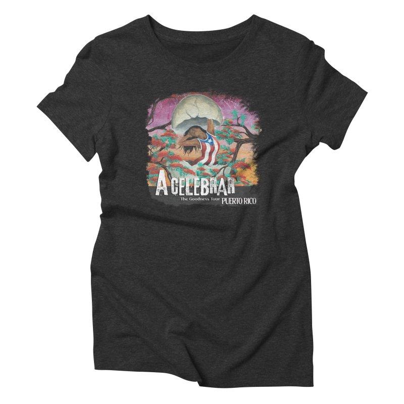 A Celebrar Apparel Women's Triblend T-Shirt by The Goodness Tour Artist Shop