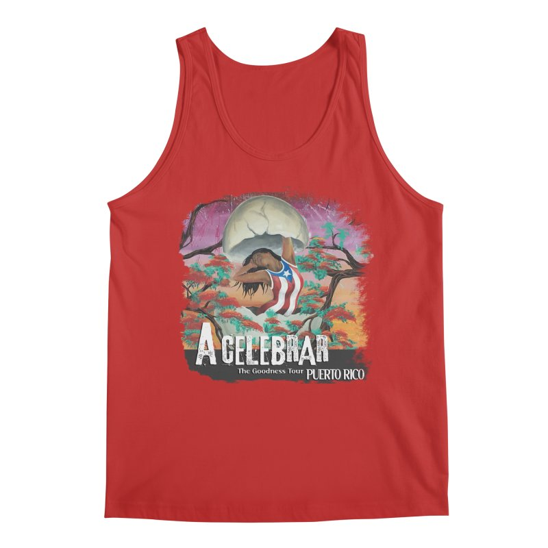 A Celebrar Apparel Men's Regular Tank by The Goodness Tour Artist Shop