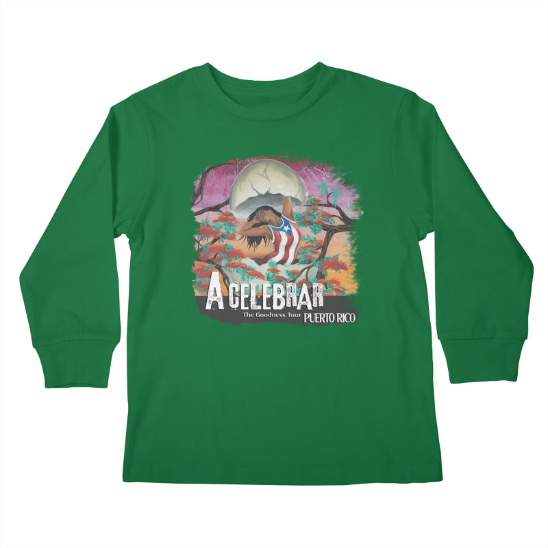 A Celebrar Apparel Kids Longsleeve T-Shirt by The Goodness Tour Artist Shop