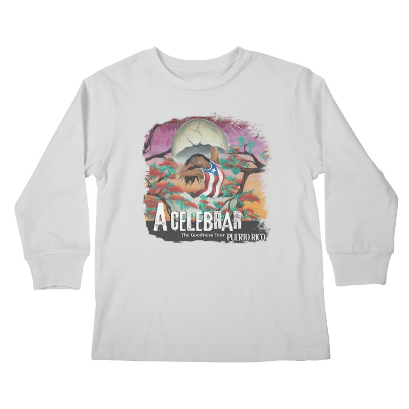 A Celebrar Apparel Kids Longsleeve T-Shirt by The Goodness Tour Artist Shop