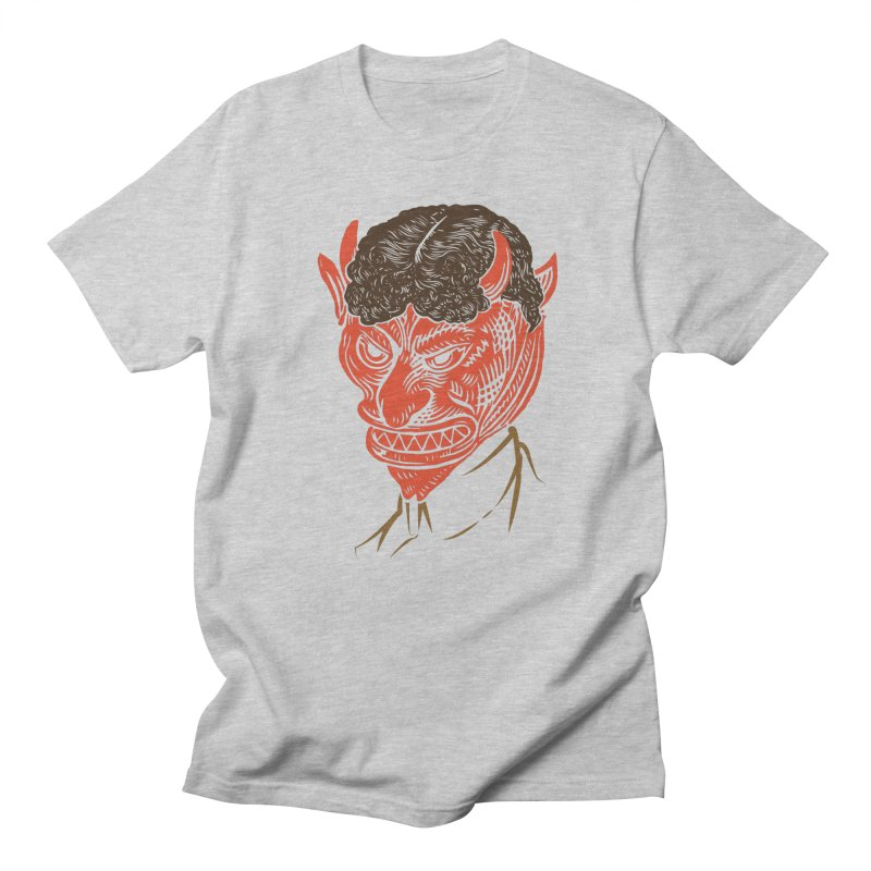 Hell Toupée Men's T-Shirt by Chick & Owl Artist Shop