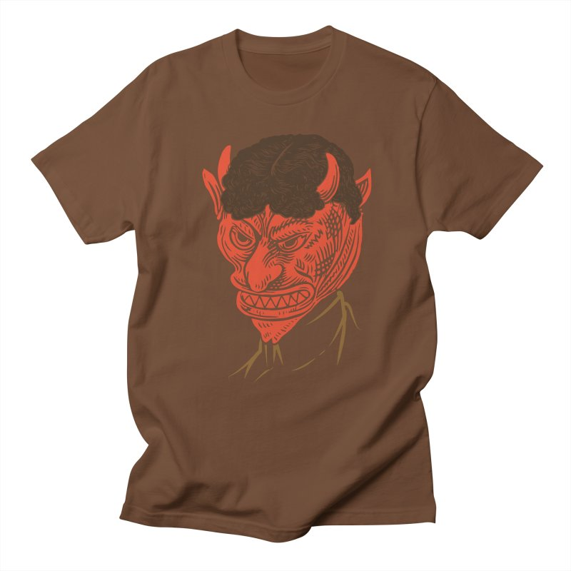 Hell Toupée Men's T-shirt by Chick & Owl Artist Shop