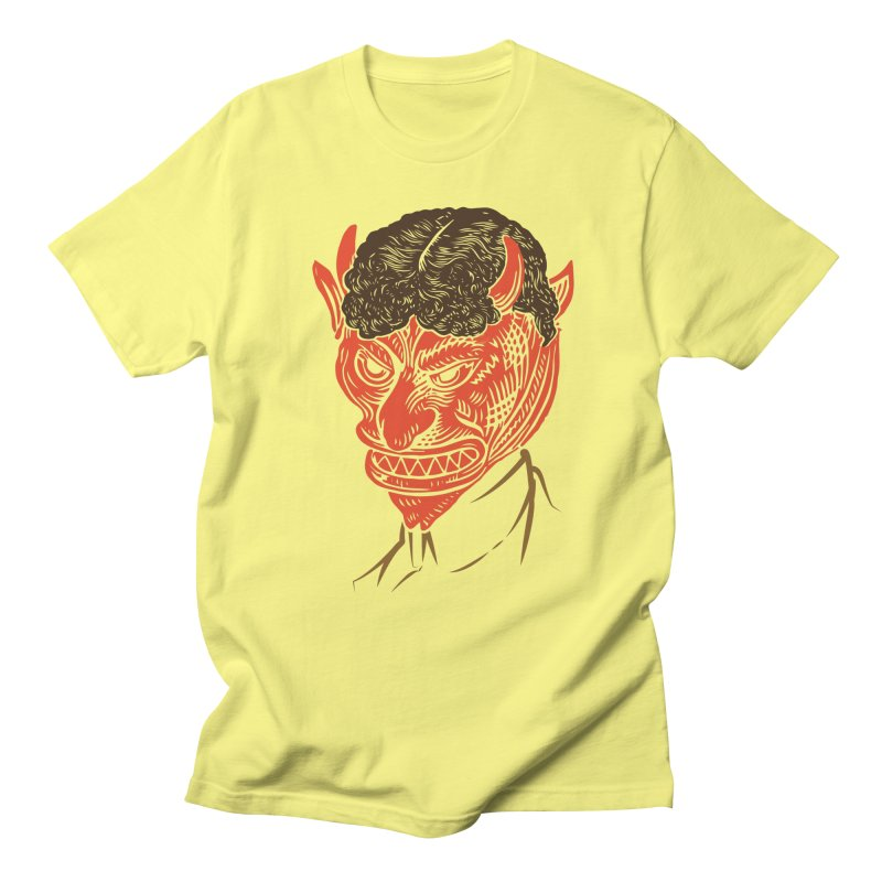 Hell Toupée Men's Regular T-Shirt by Chick & Owl Artist Shop