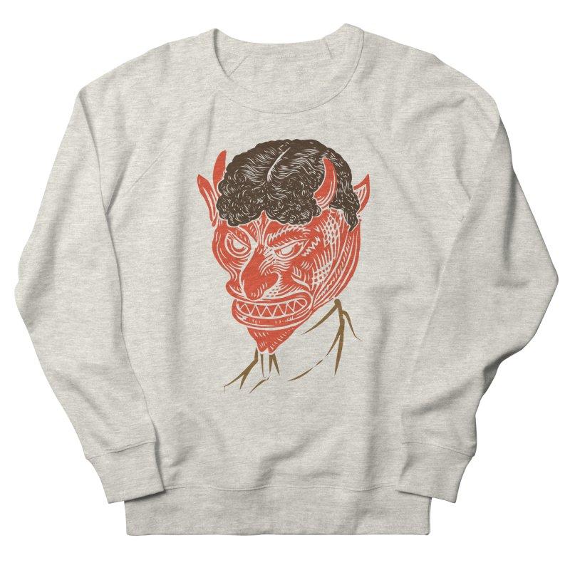 Hell Toupée Men's Sweatshirt by Chick & Owl Artist Shop