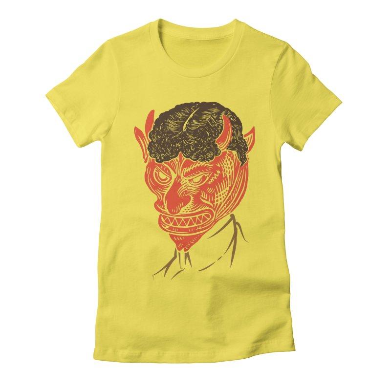Hell Toupée Women's T-Shirt by Chick & Owl Artist Shop