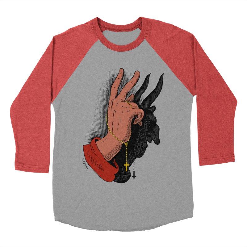 The Exorcist Men's Baseball Triblend T-Shirt by Chick & Owl Artist Shop