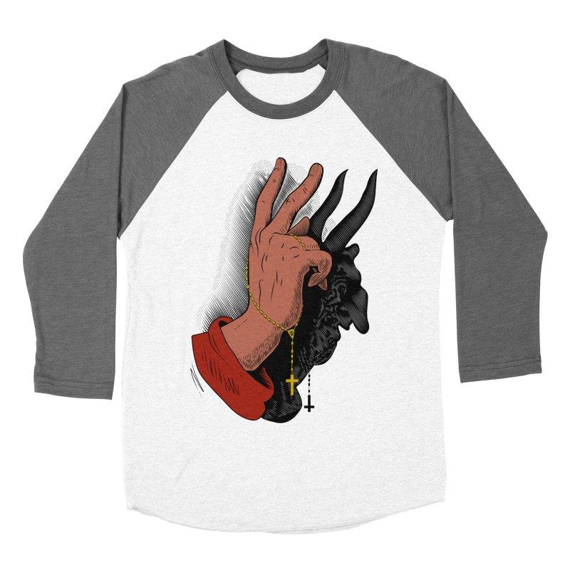 The Exorcist Men's Baseball Triblend Longsleeve T-Shirt by Chick & Owl Artist Shop