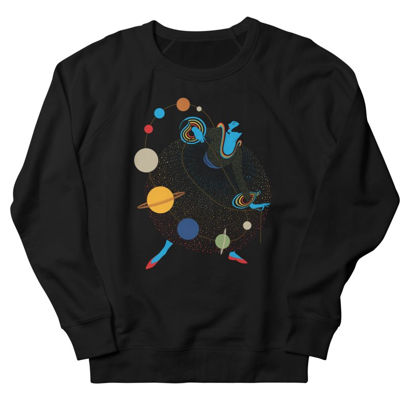 Mademoiselle Galaxy Men's Sweatshirt by Chick & Owl Artist Shop