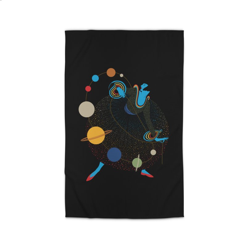 Mademoiselle Galaxy Home Rug by Chick & Owl Artist Shop